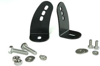Side Mounts Kit (incl. stainless steel fixings) - Black