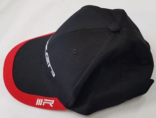 Black Cap with 'Lazer' embroidery and IIIR (Triple-R) tag