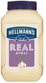 """Aioli Dressing Real """"Hellmans"""" 2.3kg"""