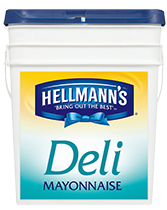 "Mayonnaise ""Hellmans"" Deli 10kg TUB"