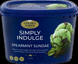 Ice Cream 2Lt TUB Spearmint SundaeGNorth