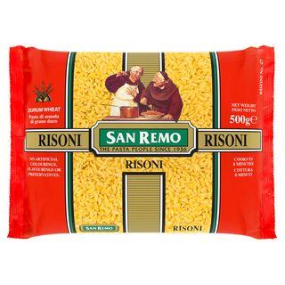 """Pasta: #47 Risoni """"San Remo"""" 500gm"""