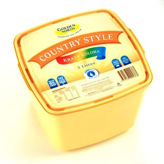 Ice Cream 5Lt YELLOWTUB Krazy Kolors GNo