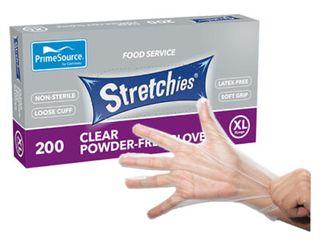 Gloves Stretchies X/L Powder Free 200