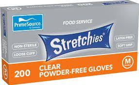Gloves Stretchies Medium Powder Free 200
