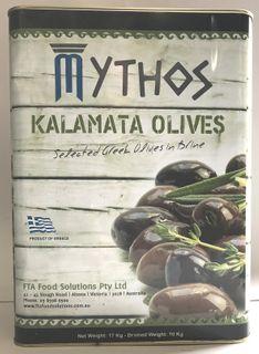 Olives Pitted Kalamata 10kg Tin