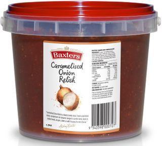 "Onion Relish Caramelised 1.2kg ""Baxters"""