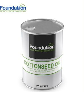 """Cottonseed Oil 20 Lt """"Foundation"""""""