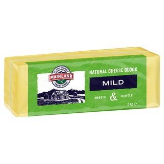 "Cheese Block Mild ""Mainland"" 2kg"