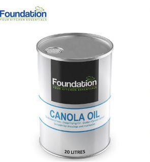 "Canola Oil 20 Lt ""Foundation"""