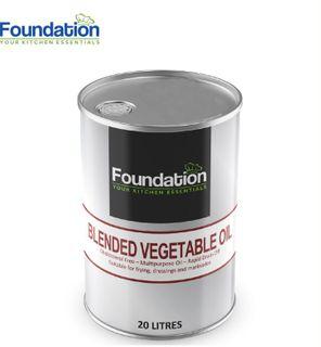 """Vegetable Oil 20 Lt """"Foundation"""""""
