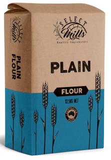 """Flour Plain 12.5kg """"Select Mills"""""""