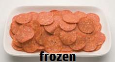 "Salami Pepperoni Sliced ""KRC"" FROZEN"