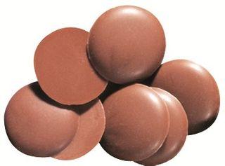 Chocolate Sienna Milk Buttons 1kg Bag