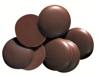 Chocolate Tuscany Dark Buttons 15kg BULK