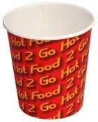 "Chip Cups 12oz (340gm) ""Castaway"" 50's"