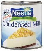 Condensed Milk Sweetened Nestle 395g tin