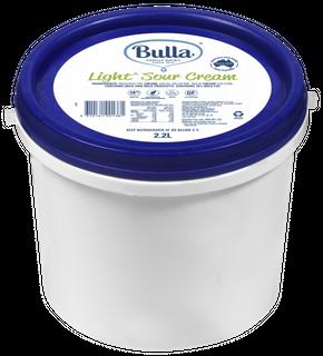 "Sour Cream Light 2.2Lt ""Bulla"""