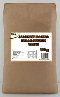 "Panko Bread Crumbs WHITE ""Newly"" 10kg"