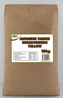 "Panko Bread Crumbs YELLOW ""Newly"" 10kg"