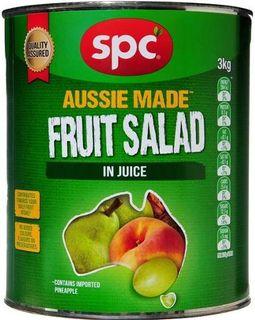 """Fruit Salad Natural Juice """"SPC"""" A10 tin"""