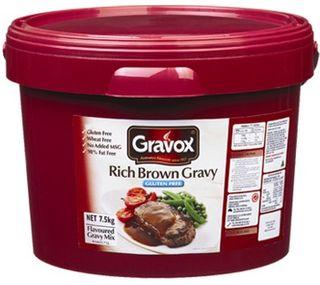 "Gravy Rich ""Gravox""Gluten Free 7.5kgBuck"