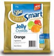 """Jelly Crystals Orange 1.1kg """"Edlyn"""""""