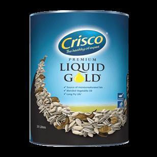 Liquid Gold Vegetable Oil 20 Lt (Tin)