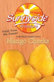 "Mango Cheeks Frozen IQF ""Sunnyside"" 1kg"