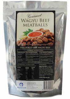 "Meat Balls: WAGYU Gourmet Beef ""Specialt"