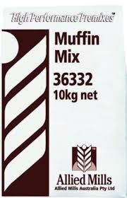 "Muffin Mix (PLAIN) 10kg Bag ""Allied"""