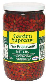 "Peppercorns Pink 720gm Jar ""GardenSuprem"