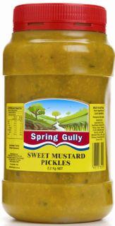 "Pickles Sweet Mustard 2.2kg Jar ""Spr Gul"