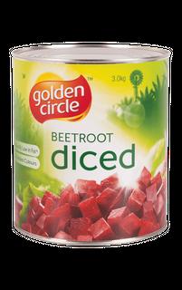 """Beetroot Diced """"GoldenCircle"""" A10 tin"""