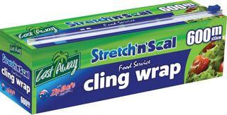 Plastic Clingwrap EasyCutter 600m x 33cm