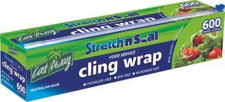 Plastic Clingwrap EasyCutter 600m x 45cm