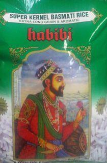 "Rice Basmati ""Habibi"""