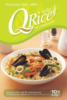 "Rice Par Boiled LG ""QRice"""