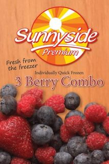 """Mixed Berries 3 Berry Mix IQF """"Simped"""""""