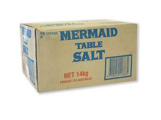 """Table Salt Fine """"Mermaid"""" 14kg Box"""