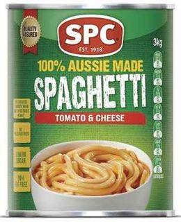 "Spaghetti ""SPC"" 3.1kg A10 TIN"