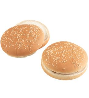"""Sbake Hamburger Buns 5"""" FullB (72x87gm)"""