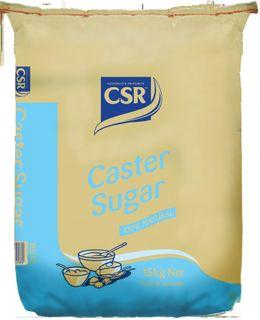 "Caster Sugar ""CSR"" 15kg"