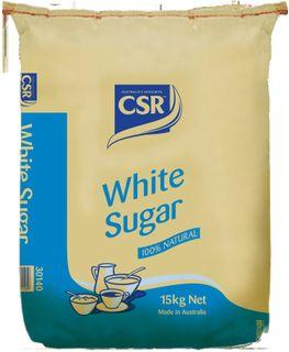 "White Sugar Graded ""CSR"" 15kg"
