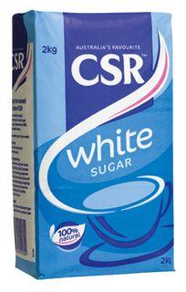 "White Sugar Graded ""CSR"" 2kg"