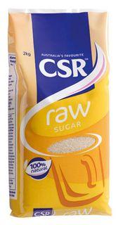 """Raw Sugar """"CSR"""" 2kg"""