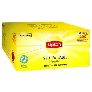 "Tea Bags ""Lipton"" Envelope 1200's"