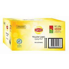 "Tea Bags ""Lipton"" String & Tag 1000's"