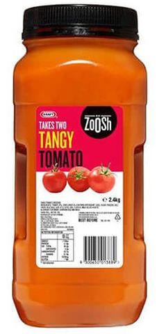 "Tangy Tomato Dressing ""Zoosh"" 2.4kg"