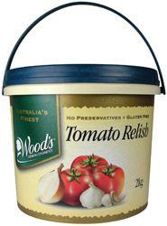 "Tomato Relish ""Woods"""
